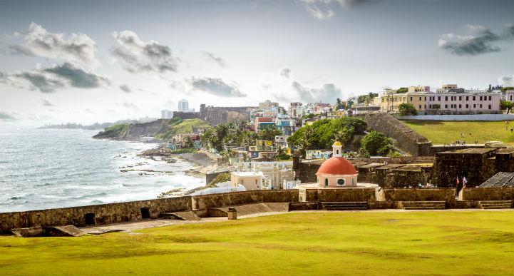 严格意义上来说,波多黎各属于美国,这里氛围让人激动。