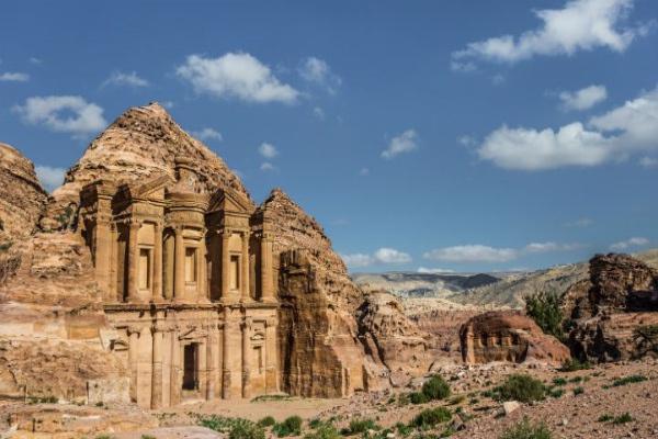 佩特拉是约旦最著名的遗址。
