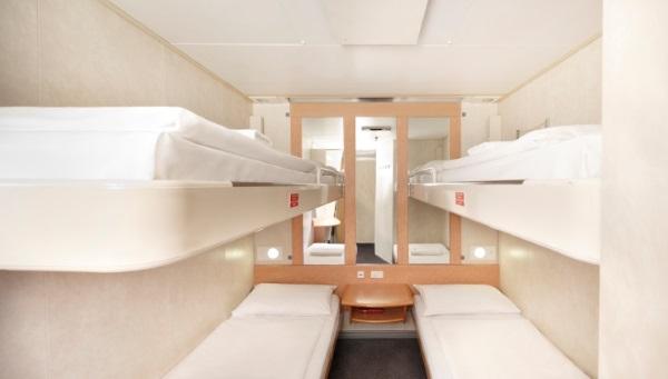 塔斯马尼亚轮渡内舱四人间