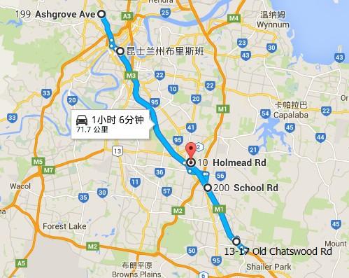 布里斯本营地地图
