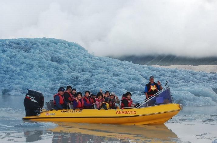 库克山塔斯曼冰川游船