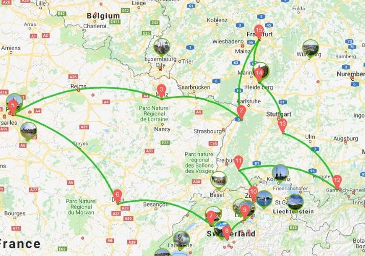 欧洲房车自驾游德国法国瑞士