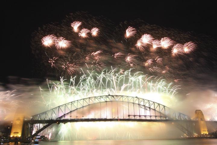 悉尼烟花秀