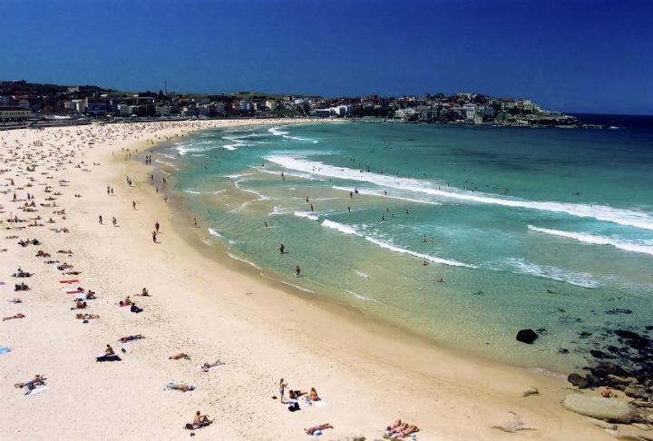 悉尼邦迪沙滩