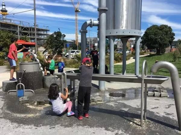 房车自驾新西兰-找个给孩子玩水的地方
