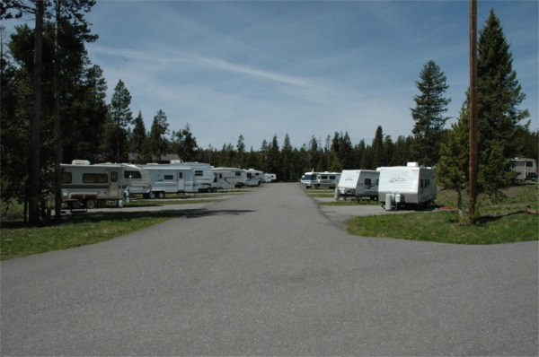 查看房车营地露营地的情况