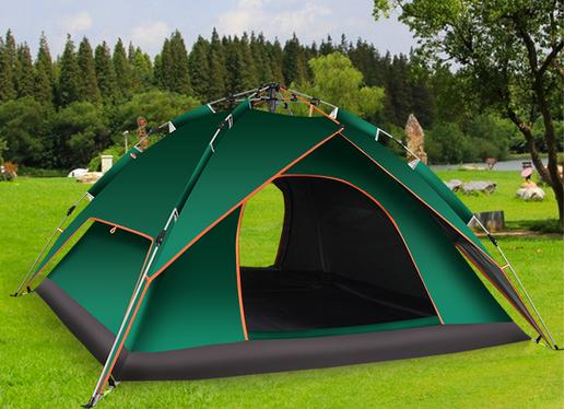 在环境优美又安全的地方搭帐篷睡觉