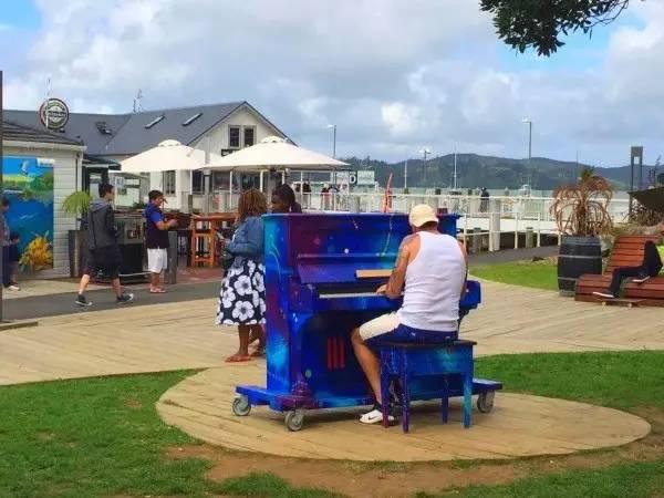 新西兰北岛派西亚小镇