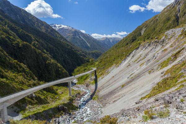 新西兰房车自驾公路旅行