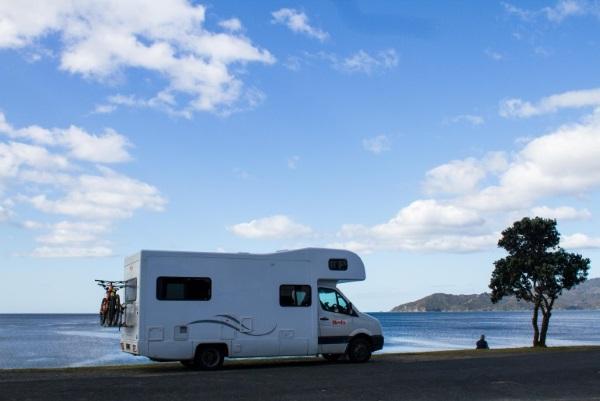 新西兰房车自驾美景图