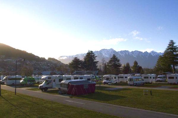 新西兰房车露营