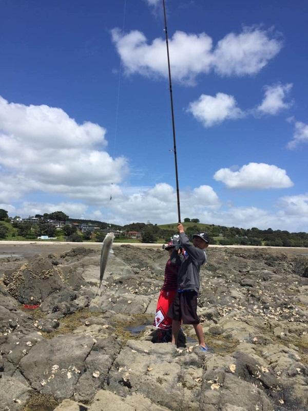 在新西兰海钓