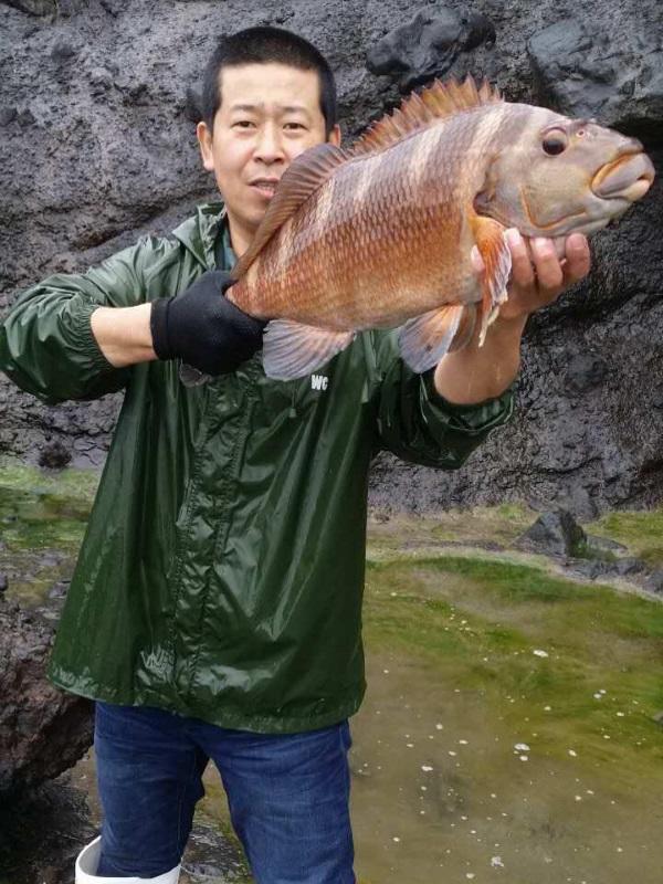在新西兰钓大鱼