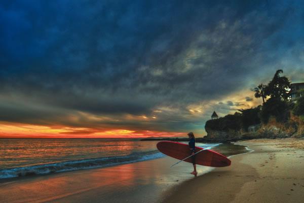 橙县亨廷顿海滩