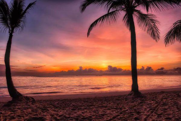 欢迎来到多米尼加共和国的天堂。