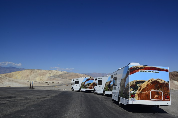 美国房车自驾游死亡谷国家公园