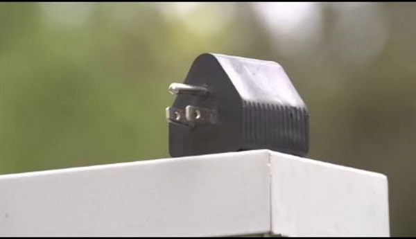 营地充电桩插头