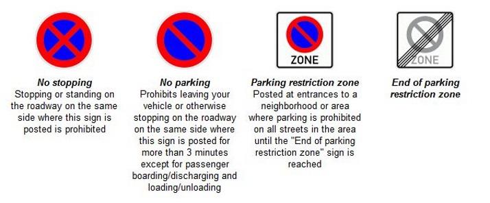 德国停车标志