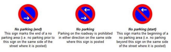 德国 停车 标志