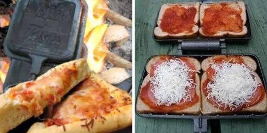 房车美食-简易面包披萨