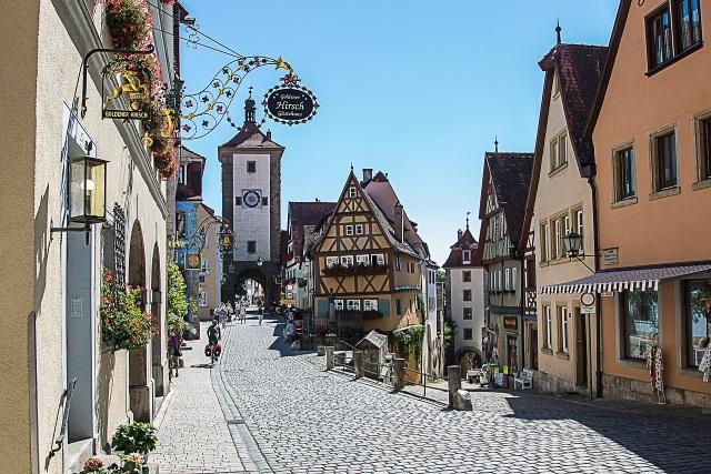罗腾堡老城