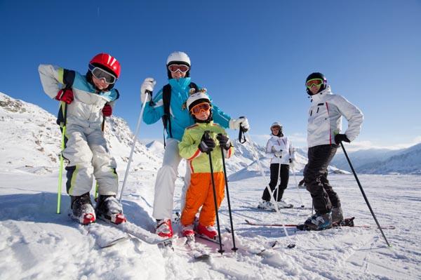 美加冬日滑雪季