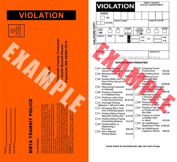 美国房车自驾-交通罚单