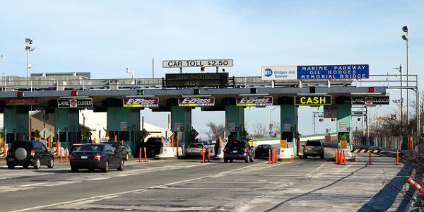 美国高速收费站