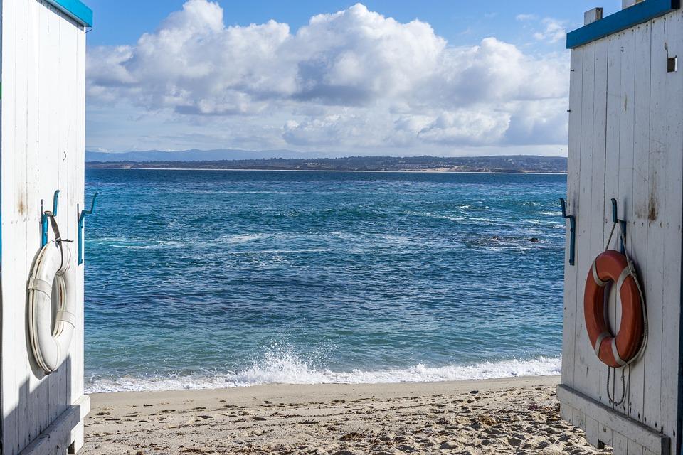 美国海岸景色-蒙特雷半岛