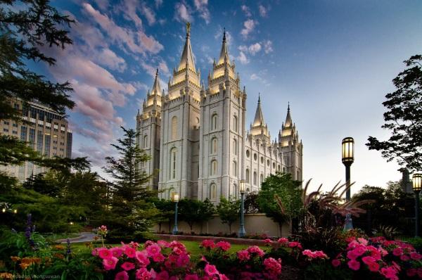 美国西部城市-盐湖城摩门圣殿