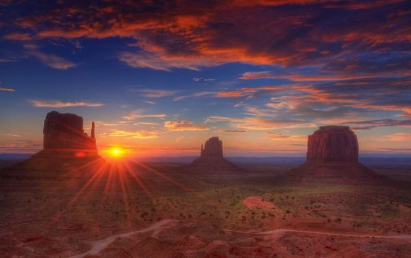 美国西部风光-纪念碑谷