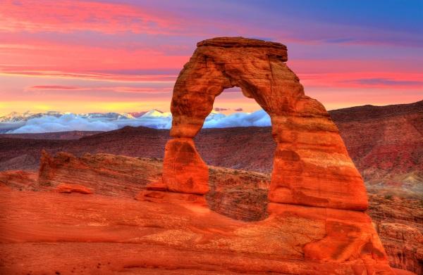 美西国家公园-精致拱门