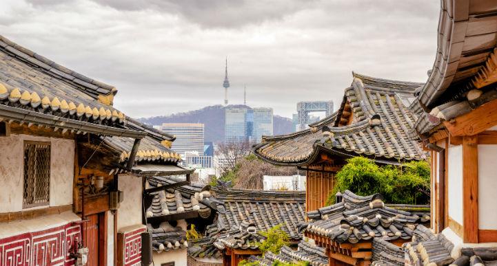 韩国实现了古代传统与超现代生活的融合