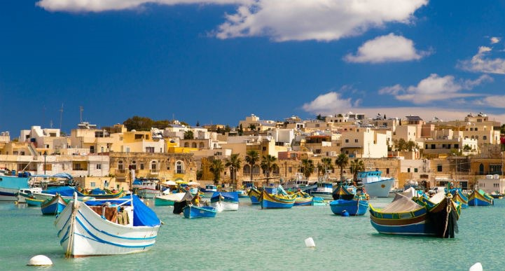马尔他阳光普照、如诗如画,如同地中海的梦境一般。