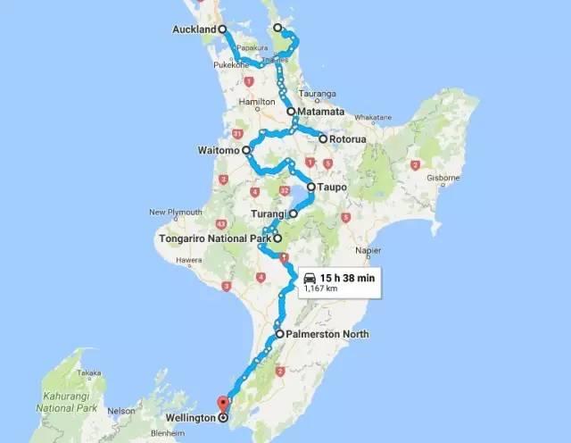 新西兰北岛房车营地