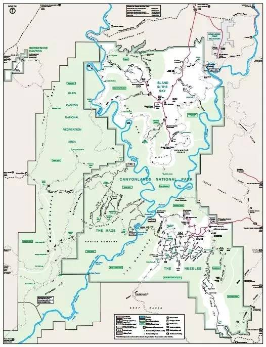 美国峡谷地国家公园