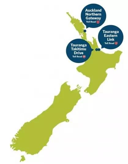 新西兰高速收费路段