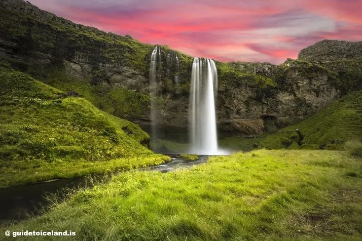 塞里雅兰瀑布冰岛自驾游
