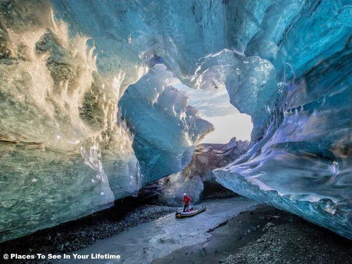 瓦特纳冰川冰岛房车旅行