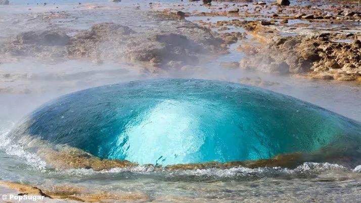 冰岛房车自驾游间歇泉