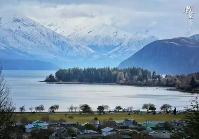 冬天的瓦纳卡湖