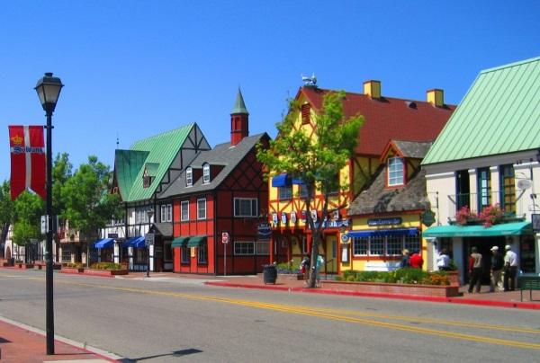索尔文丹麦小镇