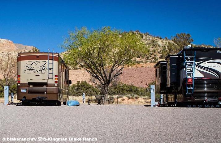 美国房车自驾游路线金曼营地