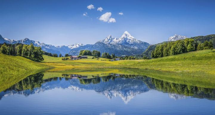瑞士的美几近超凡脱俗。