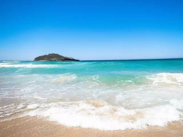 澳洲海浪沙滩