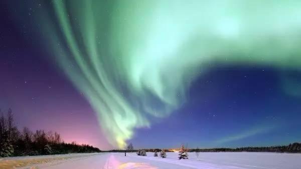 阿拉斯加极光现象