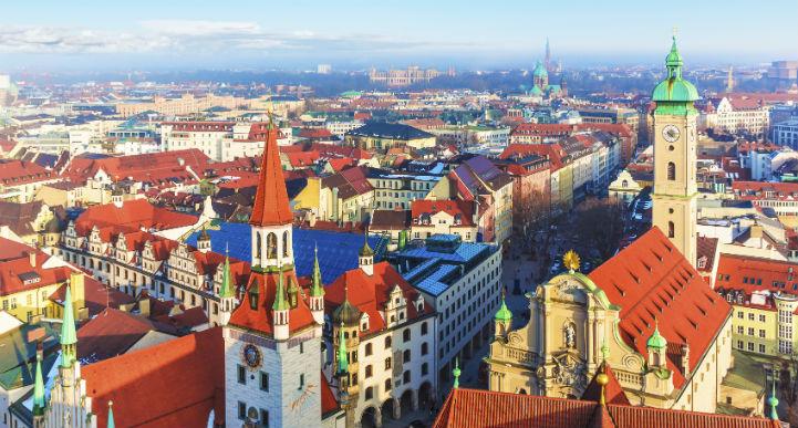 通往巴伐利亚的必经之路,慕尼黑是游客真正的旅游天堂。
