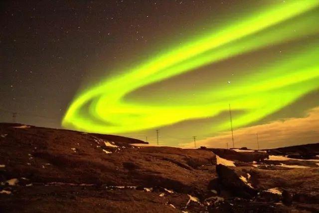 北欧房车自驾,北极光