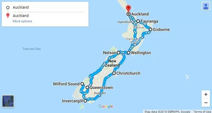 新西兰房车自驾游
