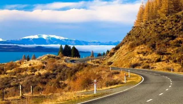 新西兰秋天房车自驾